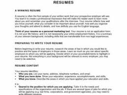 How To Do A Resume With No Work Experience How To Write A Resume With No Experience Nardellidesign Com