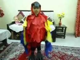 Halloween Costumes Parrots Macaw Parrot Costume Fancy Dress Sr