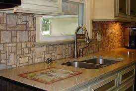 Rock Backsplash Kitchen by Natural Stone Backsplash Natural Stone Backsplash Ideas Pictures