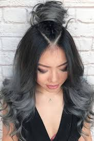 black grey hair best ombre hairstyles blonde red black and brown hair love ambie