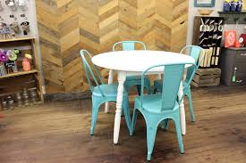 New Kitchen Table And Chairs by Round Kitchen Table With Metal Contemporary Chairs Refresh