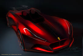ferrari sketch ferrari concept sketches on behance