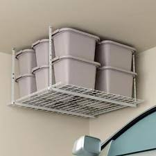 Ceiling Mount Storage by Hyloft 00625 45in By 45in Overhead Storage System Hammertone