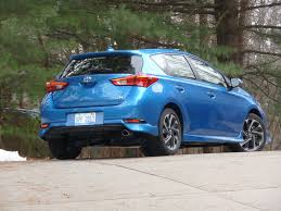 toyota hatchback 2017 toyota corolla im review autoweb