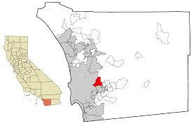 Trolley San Diego Map by Santee California Wikipedia