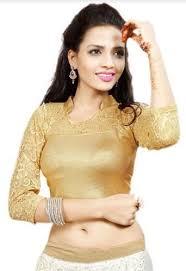 golden blouse designer golden wear blouse golden blouse sanmati fashion