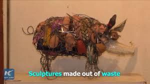 amazing sculptures waste no waste zimbabwean artist creates amazing sculptures out