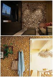 16 stunning and unique diy rustic log decorating ideas for home