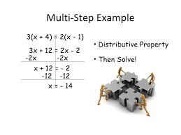 Multi Equations With Variables On Both Sides Worksheet Solving Equations With Variables On Both Sides 1