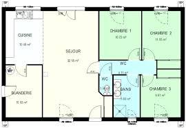 plan maison plain pied 3 chambres plan de maison plain pied 3 chambres une question plan maison plain