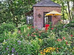 garden with color and flair traditional home