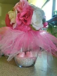 tutu centerpieces for baby shower tutu centerpiece for a baby shower entertaining