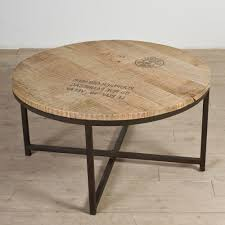 coffee table enchanting round industrial coffee table ideas