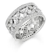 white gold eternity ring 18ct white gold marquise cut brilliant cut diamond eternity