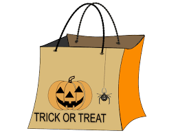 trick or treat bags trick or treat bag clip at clker vector clip online
