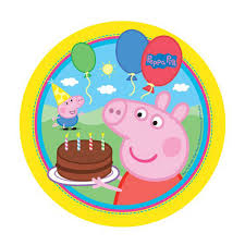 peppa pig party peppa pig party edible image edible cake toppers