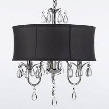 Chandelier With White Shade Gallery