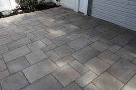 Concrete Patio With Pavers Collection In Concrete Patio Pavers Backyard Decor Plan Concrete
