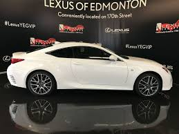 2017 lexus isf white used 2017 lexus rc 350 2dr cpe awd 2 door car in edmonton ab l12382