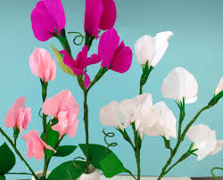 sweet peas flowers how to make paper flowers sweet pea flower 86 improved version