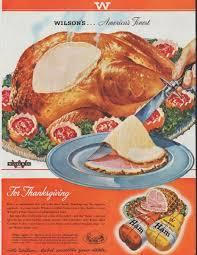 description 1948 wilson s ham vintage print advertisement