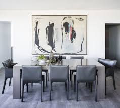 oversized wall art dining room contemporary with white standard
