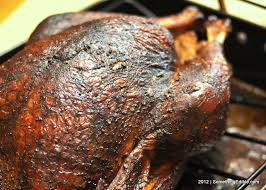 2012 thanksgiving bird journal garlic and black pepper smoked
