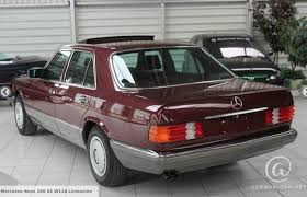mercedes s class 1986 1986 mercedes 260se 5 speed manual german cars for sale