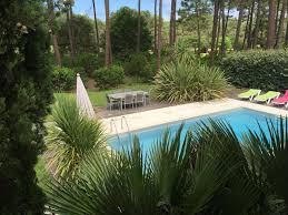 palmier du chili villa de standing au bord du golf de lacanau ocean piscine