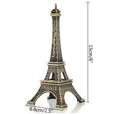 amazon com niceeshop tm home decoration eiffel tower metallic