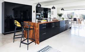 black gloss kitchen ideas 14 contemporary kitchen ideas real homes