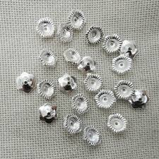 spacer earrings tassel caps component charms earrings spacer crimps ends