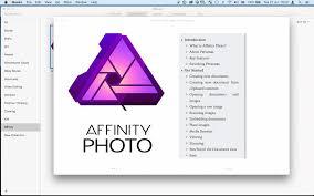 manual or tutorial photo beta on mac affinity forum