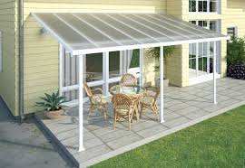 Patio Enclosures Kit by Amazon Com Palram Feria Patio Cover 10 U0027 X 20 U0027 White Garden