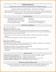 Sample Resume For Electrician Job 100 Example Resume Electrician Examples Ng Resume Sample
