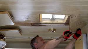 3 removing the paneling from the ceiling youtube