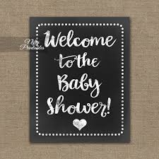 baby shower welcome sign baby shower welcome sign white chalkboard nifty printables