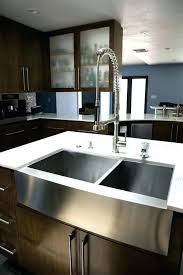 36 stainless steel farmhouse sink highpoint collection white 36 inch single bowl rectangle fireclay 36