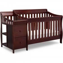 Walmart Convertible Cribs Delta Children Bentley S Convertible Crib N Changer Combo Gray