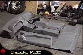 Custom Fiberglass Interior Dash Kit