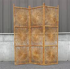 Wicker Room Divider Vintage Wicker Rattan Folding Screen Room Divider Home Sweet