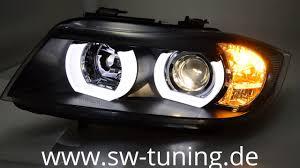 eye bmw headlights sw ltube eye headlights for bmw e90 e91 05 13 high u led