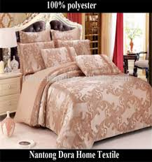Jacquard Bedding Sets Custom Jacquard Bedding Set Size 100 Polyester Saudi Arabia