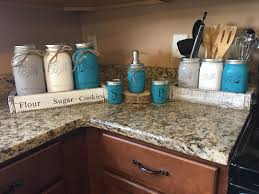 Turquoise Kitchen Canisters 30 Innovative Kitchen Rail Storage Ideas To Make The Most Out Of