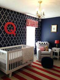 Nursery Decoration Sets Breathtaking Baby Boy Wall Nursery Decoration Ideas Navy Coral