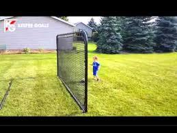 keeper goals the backyard soccer rebounder youtube