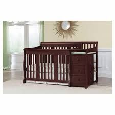 Baby Cribs With Changing Table Attached 4 In 1 Convertible Crib Ba Nursery Changing Table 3 Drawers In