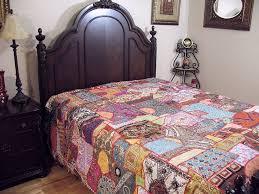 india inspired bedding vintage khambadia tapestry luxury bedspread