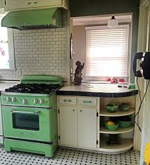 Retro Kitchen Island by Retro Kitchen Stoves Inspirations With Vintage Range Hood For