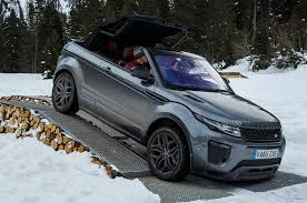 range rover truck conversion 2017 land rover range rover evoque convertible first drive motor